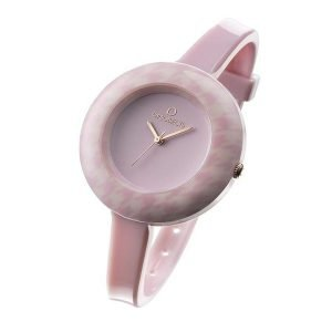 Ops!Objects orologio pied de poule rosa