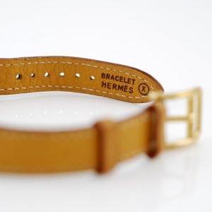 Hermes orologio luccheeto Kelly - bracciale in pelle